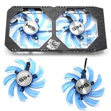 NEW 85mm FDC10U12S9-C 4PIN RX480 GPU Cooler fan for HIS RX 470 IceQ X2 Turbo 4GB RX 470 IceQ X2 OC 4GB RX474 RX570 RX574 RX580 95mm cf1015h12d graphics card blue led cooler fan for sapphire nitro rx480 rx470 rx580 rx570 rx590 rx 470 480 570 580 590 4g 8g
