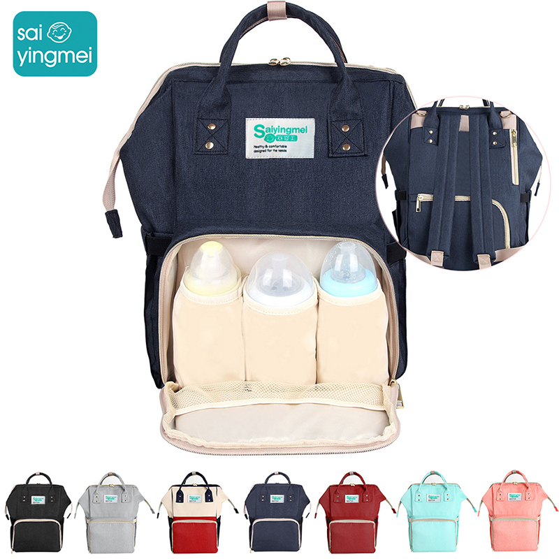 Mummy  Bag Nappy Backpack Large Capacity Bag Mom Baby Multi-function Waterproof Outdoor Travel Diaper Bags For Baby CareMummy  Bag Nappy Backpack Large Capacity Bag Mom Baby Multi-function Waterproof Outdoor Travel Diaper Bags For Baby Care
