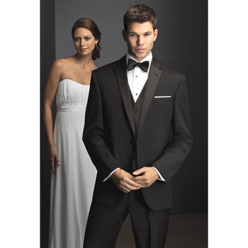 New Custom Made Fashion 3 Piece Mens Wedding Suits Groom Tuxedos Dress Suits Formal Party Suits  (Jacket+Pants+Vest) A125