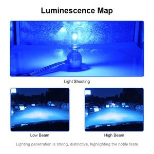 Image 3 - roadsun 12000K COB Chips C6 Car Headlight Bulbs LED H7 H4 H1 H11 9005 9006 72W 12V 8000LM Car Styling Spot Lights