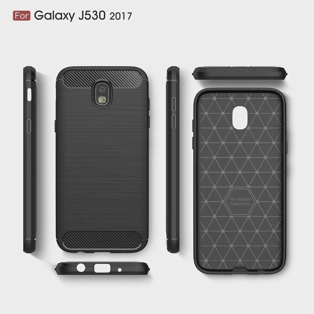 Case Voor Samsung A8Plus 2018 Case Voor Samsung A6Plus 2018 Carbon Fiber Soft Cover Voor Samsung J5 2017 Euraziatische versie Case