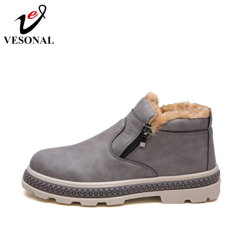 brown Zipper gray Pour Peluche Marche Top Black Marque Shoes Chaud Mode Hommes Tendance Hiver Chaussures Shoes Vesonal Courte Adulte Shoes High Populaire Conduite A16xH