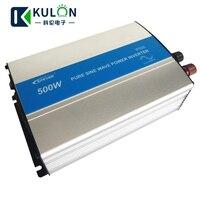 EPever IP500 500W 12V 24V DC Solar Panel Off Grid Tie Inverter 110V 220V AC Output Pure Sine Wave Inverter with 1A 5V USB Output