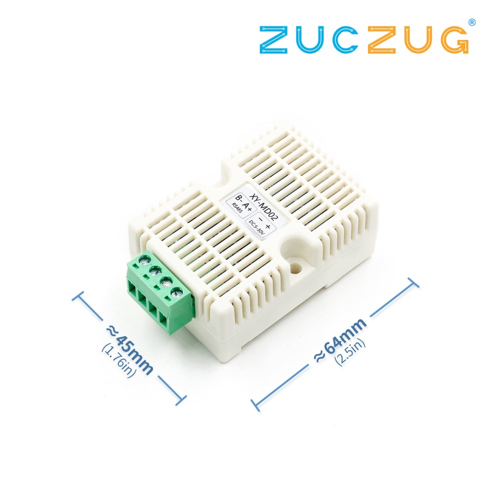 Temperature & Humidity Transmitter SHT20 Sensor High Precision Monitoring Modbus RS485