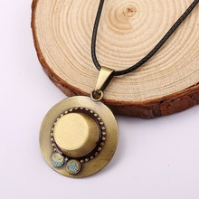 Anime One Piece Necklace Hat Pendant Jewelry