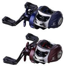 15+1BB Baitcasting Reel G-ratio 7.2:1 Left or Right Hand Boat Bait Casting Fishing Reels With Magnet Brake Pesca dropship albacore stainless steel main body bait casting reels suitable for lure or ocean boat fishing