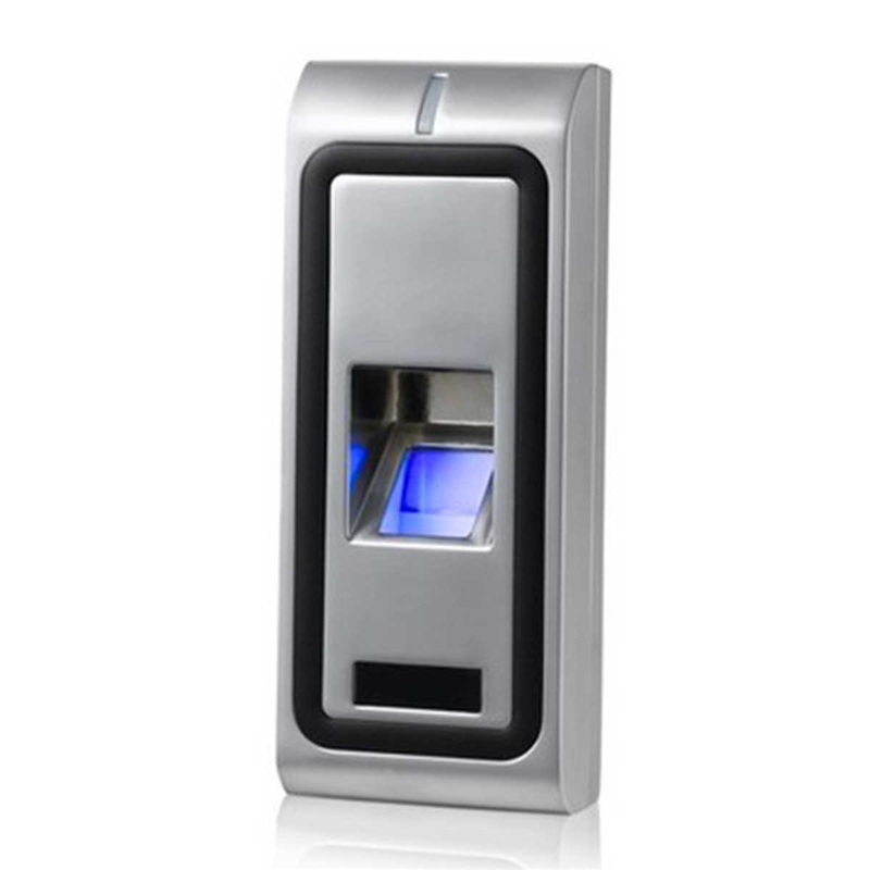 Newest RFID Access Control Reader Standalone Biometric Fingerprint Access controller Door Opener 125KHZ WG26 output 500users lpsecurity standalone rfid fingerprint access control reader single biometrics fingerprint access controller door lock opener