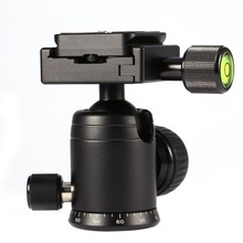 MYT-B Camera Tripod Ball Head With Quick Release Plate 1/4 Inch Mounting Screw Camera Accessories Top Quality