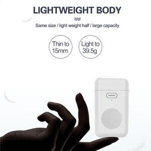 Image 5 - 1000 мАч Беспроводное зарядное устройство мини внешний аккумулятор для i watch 1 2 3 4 5 6 Магнитный Портативный внешний аккумулятор тонкий внешний аккумулятор для Apple Watch