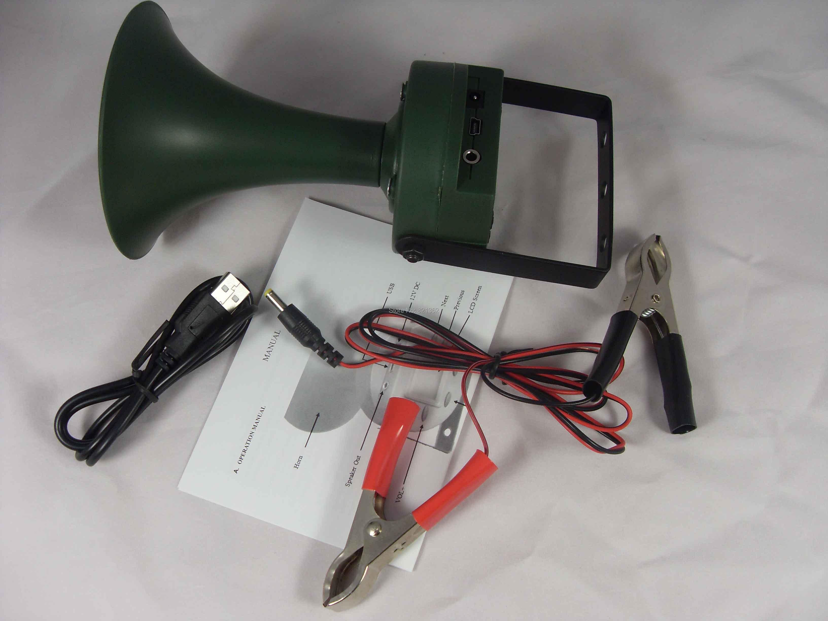 35w Power Bird Caller Speakers Bird Voices MP3 Player Bird Call for Hunter Bird Caller bird