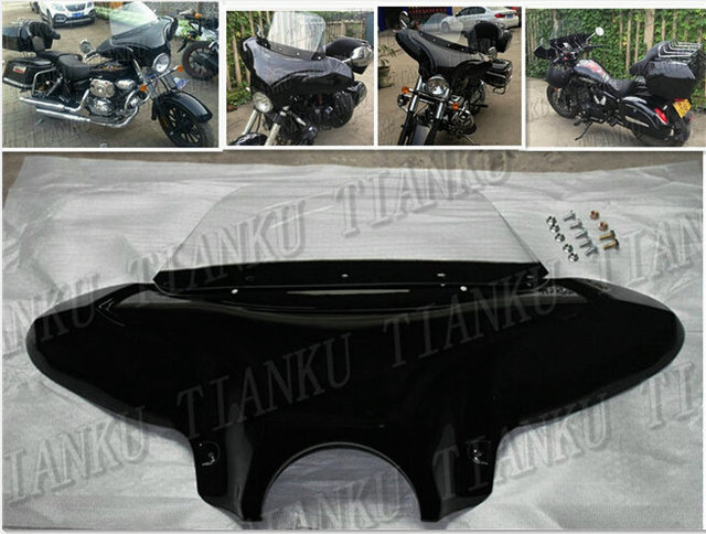US $146 78 |Matte black Windshield Windscreen Fairing For Suzuki Boulevard  C50 Volusia 800 C90 M109R C109 Marauder 800 M50 Intruder LC1500 -in