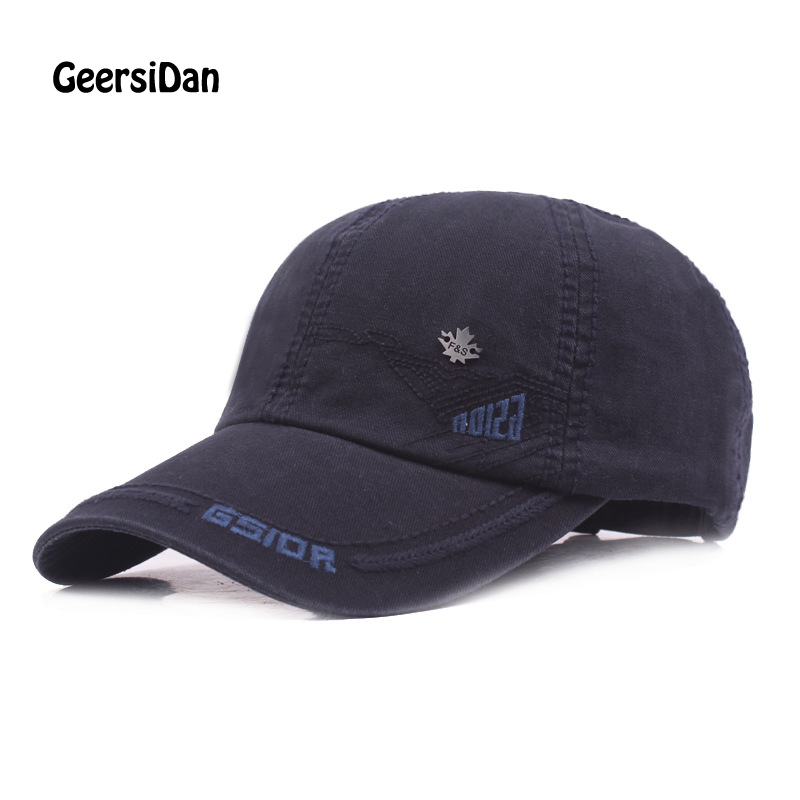 GEERSIDAN Fashion cotton summer autumn  baseball cap women casual snapback hat for men casquette homme Letter embroidery gorras clever пингвинёнок пороро я тоже так смогу