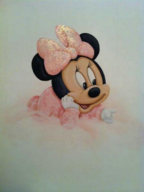 DIY Diamant Malerei Mickey maus bild Voller Kreuz stich kits Diamant Stickerei Hübsche Minnie Mosaik muster Hand
