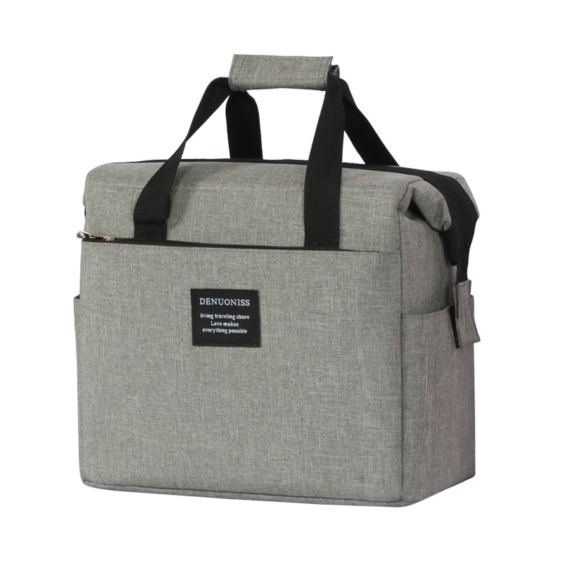 Super Oxford cloth waterproof EVA insulated lunch bag refrigerated bags beverage storage Hand bag picnic cooler bags