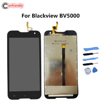 For Blackview BV5000 LCD Display Touch Screen Replacement Part For Blackview BV 5000 Glass Panel Lcds