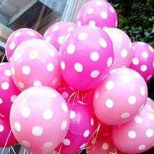 Polka Dotted Balloons