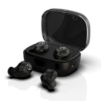 TWS Wireless Earbuds Bluetooth Earphones Cordless Head phones Handsfree Sport Headset Earphones for Phone With Charging Box Mic