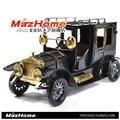 Zakka mercearia retro handmade tin toy saudade clássico modelo de carro Decoração presentes apoiar lote misto