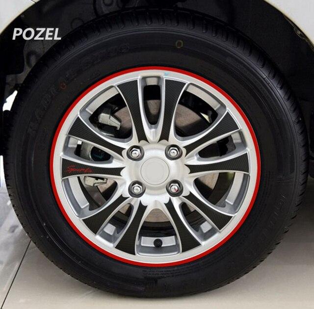 Wheel Tire Sticker On Car Rim Tape Car Sticker For ACURA RSX ILX EL - Acura el rims
