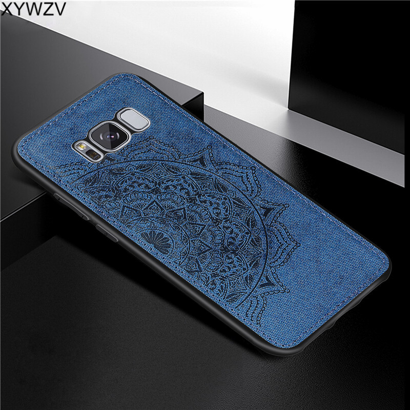 Image 4 - For Samsung Galaxy S8 Case Luxury Soft Silicone Luxury Cloth Texture Phone Case For Samsung Galaxy S8 Back Cover For Samsung S8-in Fitted Cases from Cellphones & Telecommunications