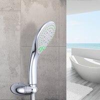 JOMOO Shower Head Shower Set Wall Mount Bath Shower ABS 4 jet Water Saving Shower Head With 1.5M Hose Wall Bracket Water Can