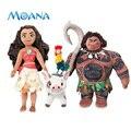 2016 Novo Filme Moana Maui Maui Heihei Pua Princesa Aventura Brinquedo de Pelúcia Dom Boneca de Brinquedo de Pelúcia Dos Desenhos Animados Para O Bebê
