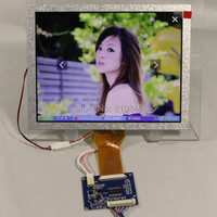 8inch LVDS Lcd Panel AT080TN52 800 600 LVDS TTL Tcon Board 8inch Lcd Panel With LVDS