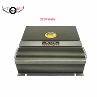 I Key Buy 2200W Car Audio High Power 2 Channel Mosfet Acoustic Power Boosters Amplifier Car Amplifiers Aluminum