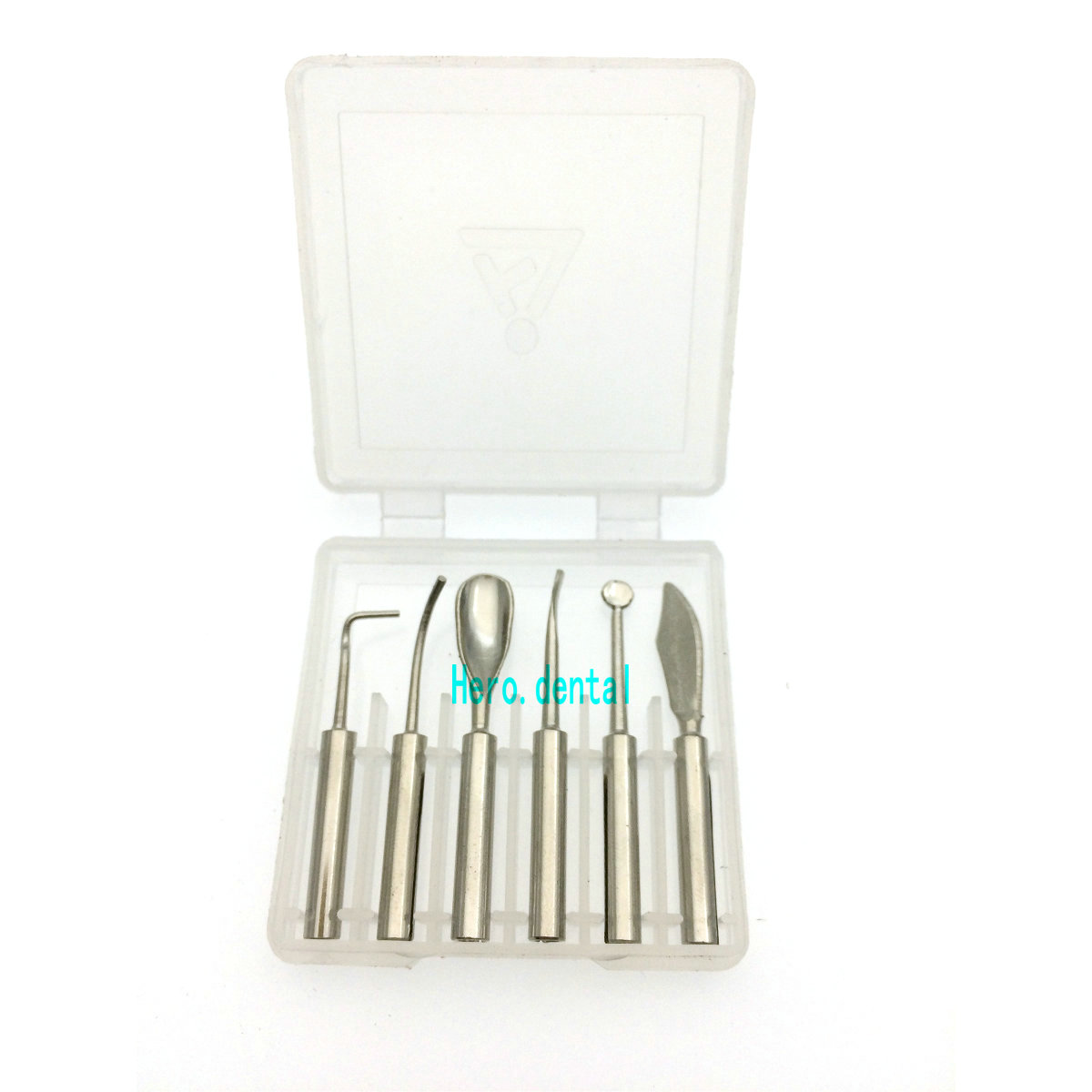 6 pcs/ensemble Wax Conseil Pot pour Dental Lab Électronique Waxer Cire Stylo Crayon Outils Instruments Dentaires Équipement
