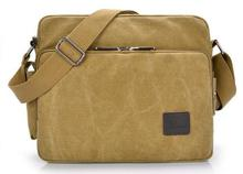 Vintage men canvas single shoulder bag new style business bag messenger bag solid casual single bag high quality