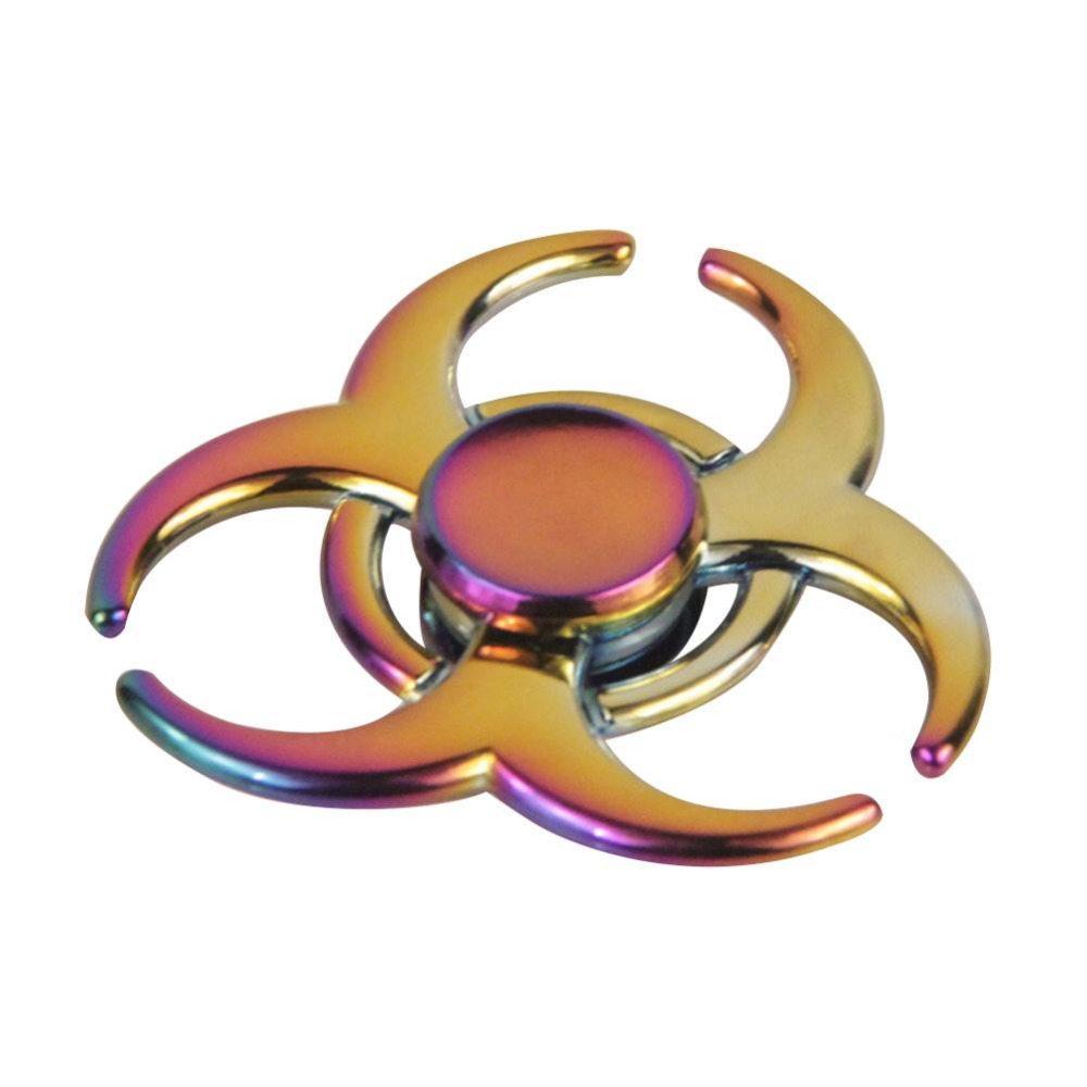 LeadingStar 20pcs Fidget Spinner for Autism and ADHD Relief Focus Anxiety Stress Gift Rainbow Aluminium Hand Spinner zk25 luminous tri fidget hand spinner light in dark edc tri spinner finger toys relieve anxiety autism adhd for child