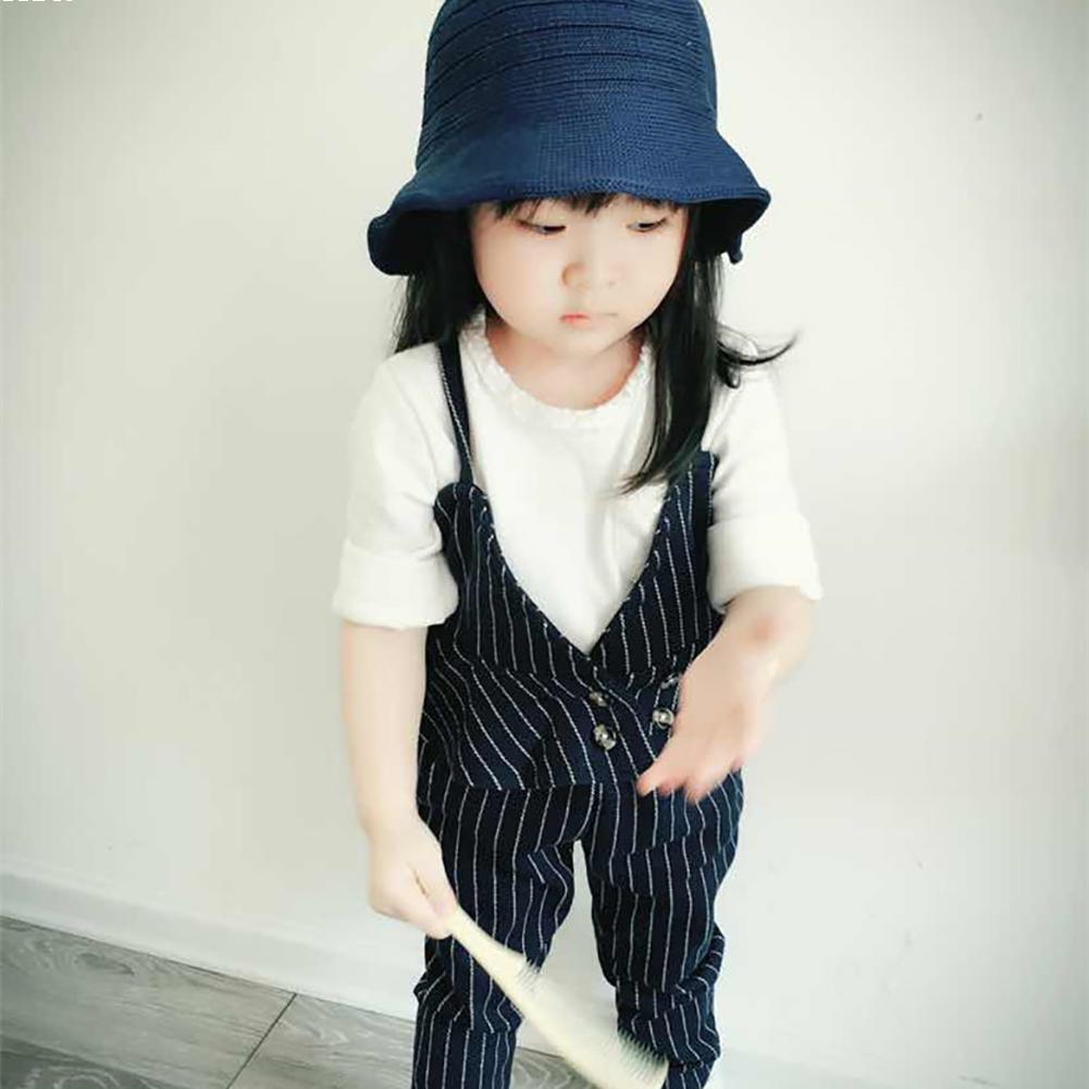 ⊰Muchacha de los niños del bebé del sombrero de paja Bow verano ...