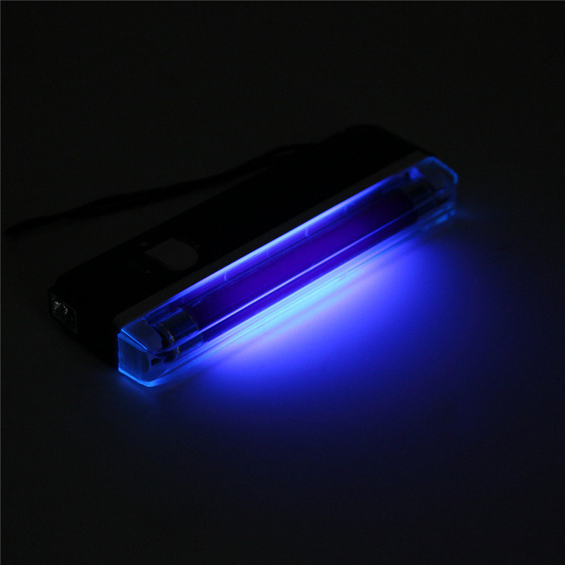 Amazing Smuxi Portable 2in1 UV Light Tube Bulb Flashing Ultraviolet Lamp Torch  Blacklight Handheld Money Detector Battery Powered 6V In Ultraviolet Lamps  From ... Good Looking