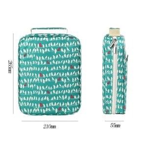 Image 4 - Kawaii 150 слотов футляр для карандашей 4 слоя на молнии сумка с принтом большой емкости для хранения пенал школьные принадлежности