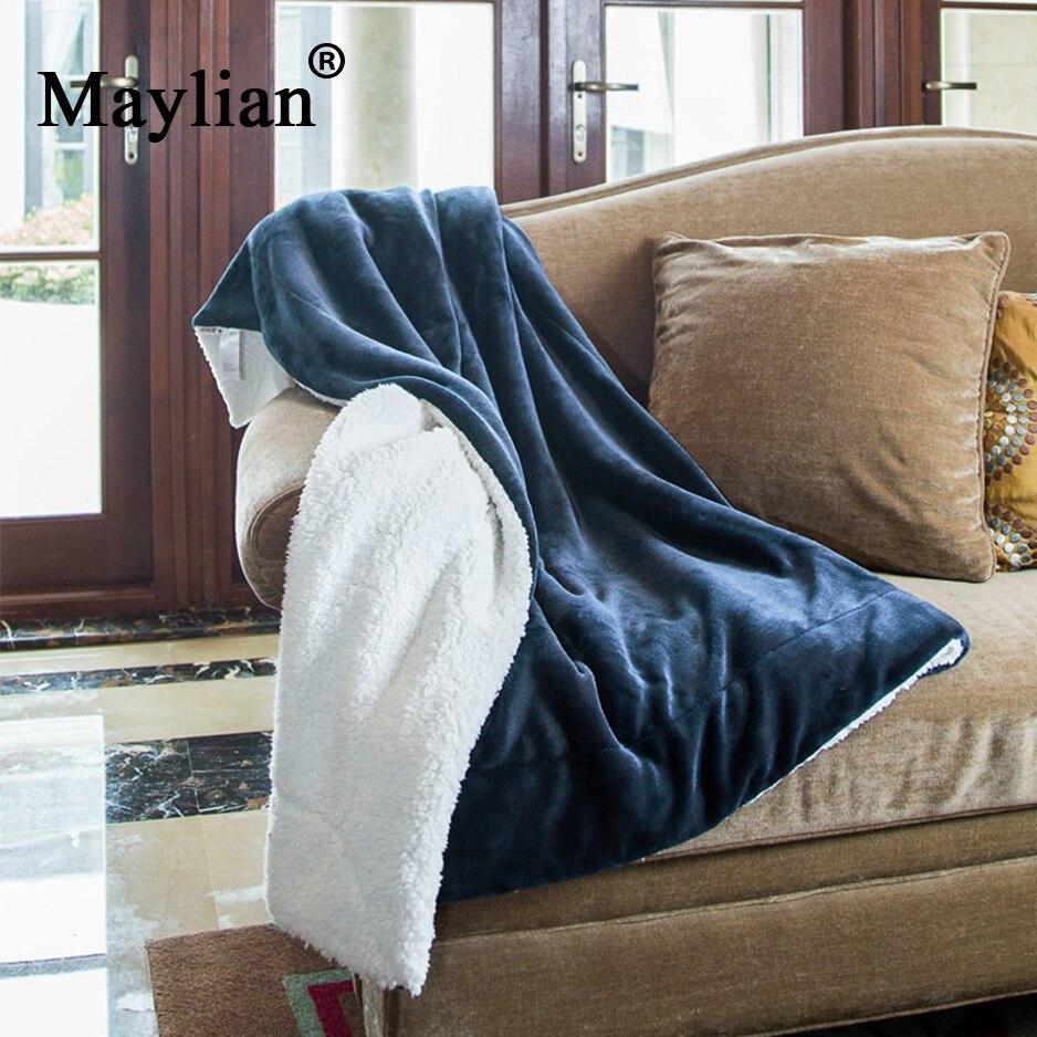 Коралловое флисовое зимнее шерстяное одеяло кашемировое одеяло теплое флисовое супер теплое мягкое фланелевое одеяло на диван кровать T280