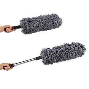 Image 5 - Chiffon de nettoyage en microfibre, 1 pièce, cire rétractable de haute qualité, pour lavage de voiture, brosse de nettoyage