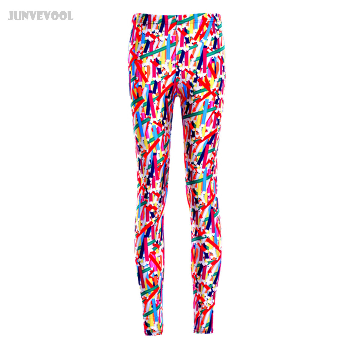 Leggings Women Mixed Color Pencil Legging Footless Pants Womens Sexy Slim Trousers Work Out Elastic Gyms Outfit Active Wear