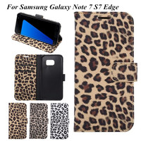Stand Flip Leopard Print Purse For IPhone 6S 6 Plus 5S Leather Card Holder Wallet Case