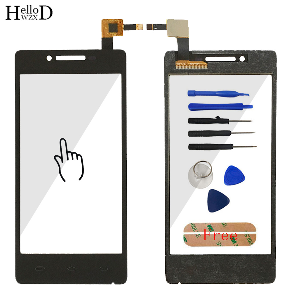 4.5 Smartphone Touch Glass For Prestigio Multiphone PAP 5450 DUO PAP5450 Front Screen Digitizer Panel Lens Sensor Tools Adhesive