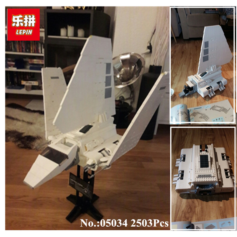 IN STOCK 2503 pcs LEPIN 05034  The Imperial Shuttle Building Blocks Bricks  Assembled Toys 10212 on AliExpress