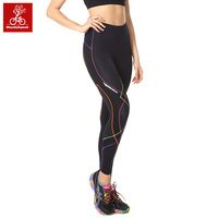 New Design Women Running Pants Yoga Capri Pants Fitness Leggings Jogging Tights Compression 3/4 Trousers Size S XXL