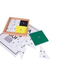 Новые деревянные детские игрушки Монтессори учебные пособия