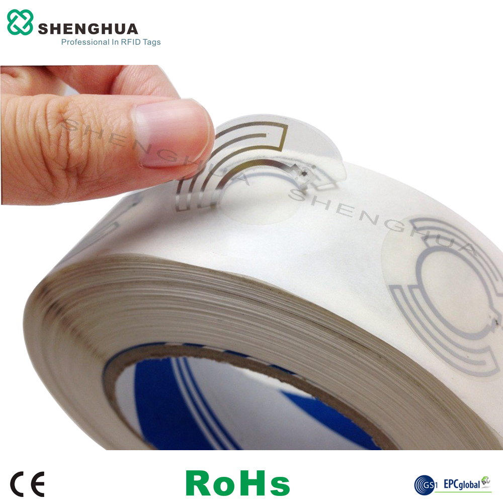 10pcs SH-I0401 DIA 35MM RFID UHF DISC LABEL  RFID STICKER Label For Library/ CD/DVD Store ISO18000-6C