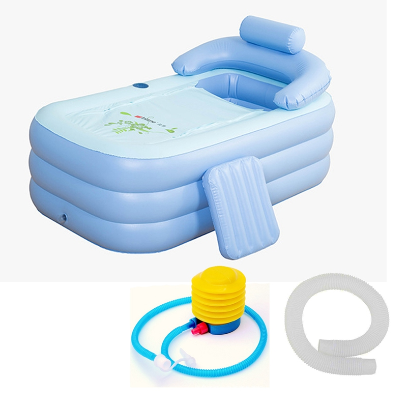 portatile pvc adulto caldo spa pieghevole vasca da bagno gonfiabile cassetta di sicurezza eco friendly