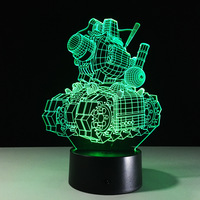 Creative Gifts For Valentines Day 3d Lamp Mini Led Lights Battery Powered Acrylic 3d Night Light
