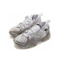 Модные кожаные лет женские кроссовки трек с Круглый Носок Ретро Повседневная обувь Гладиатор спортивные туфли дышащая обувь на плоской под