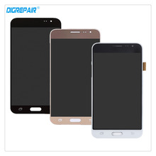 + Черный/белый/золото для Samsung Galaxy J3 (2016) J320A J320F J320M ЖК-дисплей Дисплей планшета Сенсорный экран сборки Запчасти для авто