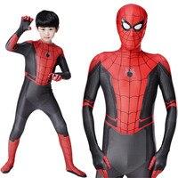 Spider Man Far From Home Cosplay 3D Print Bodysuit Hot Movie Costume Superhero Cosplay Halloween Spiderman Costume
