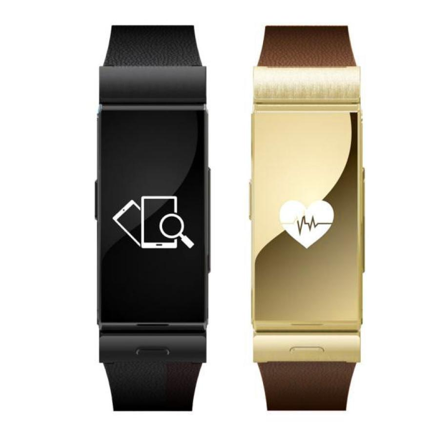 Noble Smart Watch Expensive Leather Strap High Quality Bluetooth Smart Bracelet Heart Rate Android Watch Phone