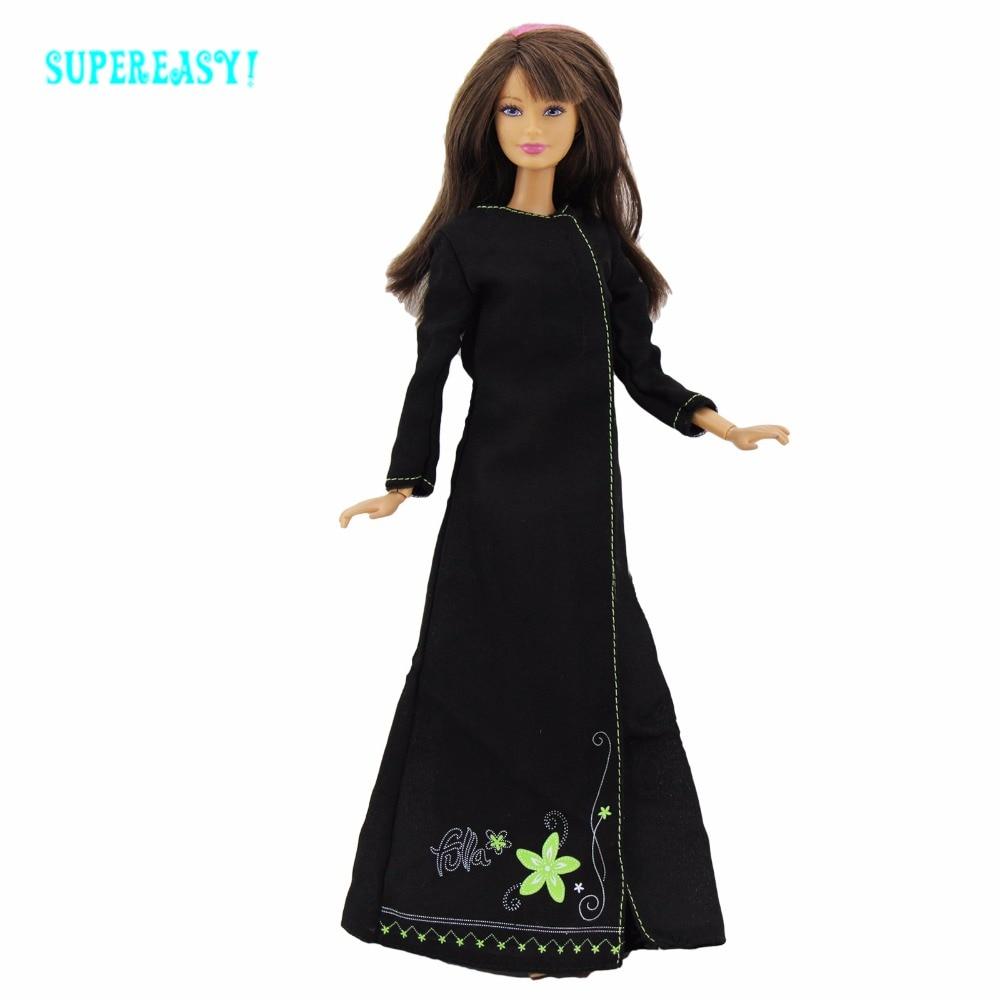 Одежда с длинным рукавом платье экзотические костюм принцессы играть дома кукольный домик Интимные аксессуары одежды для Барби FR Kurhn Кукла ...